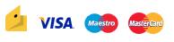 VISA, MasterCard, Maestro, Яндекс.Деньги